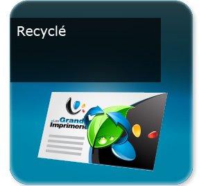 Cartes de correspondance Recyclé écologique