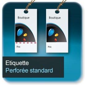 Autocollant & Étiquette Standard rectangle ou carré