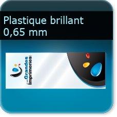 marque page plastique transparent PVC 0.65 MM