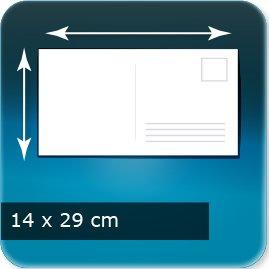 Cartes postales 290x140mm