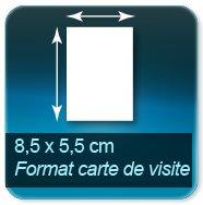 Autocollant & Étiquette Format 85x55mm