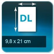 Autocollant & Étiquette Format 98x210 mm