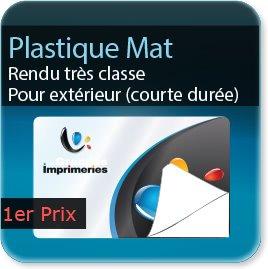 Autocollant & Étiquette Plastique Mat