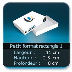 Emballage (Coffret, Boîte, carton, colis et etuis) 11 x 8 x 2,5 cm (Largeur x profondeur x hauteur)