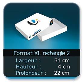 Emballage (Coffret, Boîte, carton, colis et etuis) 31 x 22 x 4 cm (Largeur x profondeur x hauteur)
