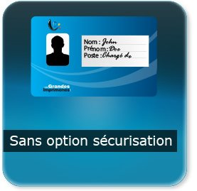 Badge Sans-option-code-barre