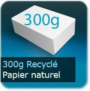 Cartes de visite 300g Recyclé