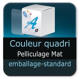 Emballage (Coffret, Boîte, carton, colis et etuis) Pelliculage Mat extérieur