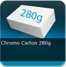 Chemises à rabats Extra epais carton 280 gr chromo Carton