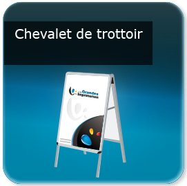 Faire un Roll up chevalet - panneau porte affiche