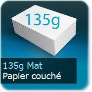 Dépliants / Plaquettes 135g Mat Couché