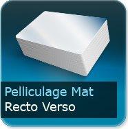 Dépliants / Plaquettes Pelliculage Mat au Recto et Verso