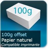 Dépliants / Plaquettes 100g Offset
