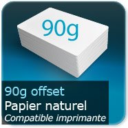 Dépliants / Plaquettes 90g Offset