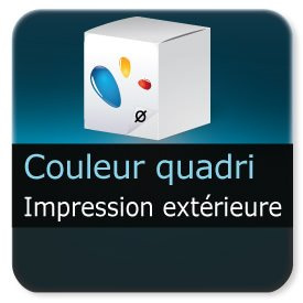 Emballage (Coffret, Boîte, carton, colis et etuis) Personnalisation & impression extérieur couleur quadri
