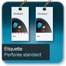 Autocollant & Étiquette Standard rectangle ou carré