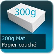 Flyers 300g couché mat