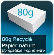 Flyers 80g Recyclé cyclus