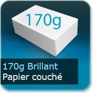 Affiches 170g couché brillant