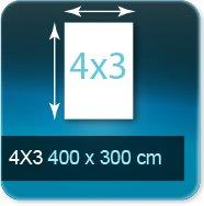 Affiches Affiches 4 par 3  4000X3000 mm