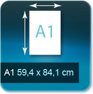 Affiches A1 - 59,4x84,1 cm