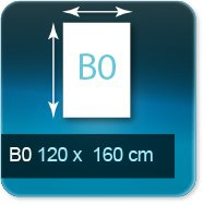 Affiches B0 1200x1600mm < à 10 ex