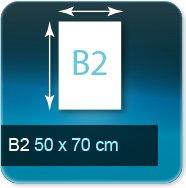 Affiches B2 500x700mm