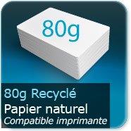 Affiches 80g Offset Recyclé