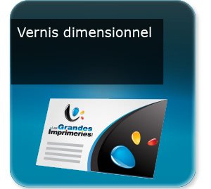 carte commerciale Vernis dimensionnel