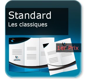 Document 4 volets Publicitaire