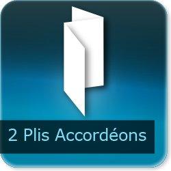 Dépliants / Plaquettes 2 plis accordéon
