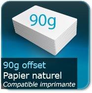 Cartes de correspondance 90g Offset