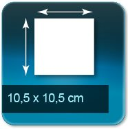 Flyers 10,5x10,5 cm