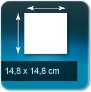 Flyers 14,8x14,8 cm