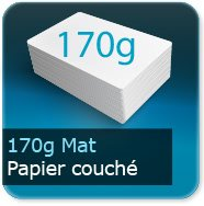 Flyers 170g couché mat
