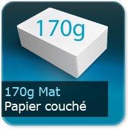 Flyers 170g couché mat
