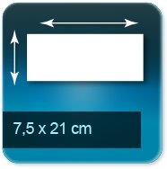 Flyers 7,5x21 cm