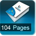 Tarif impression livre 104 Pages