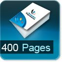 Livre dos cousu 400 Pages