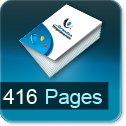 Livre dos cousu 416 Pages