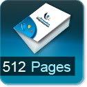 Livre dos cousu 512 Pages