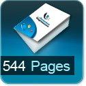 Livre dos cousu 544 Pages