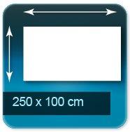 Affiches 250 x 100 cm