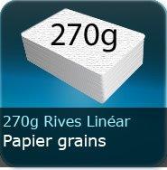 Dépliants / Plaquettes 270g Grains Rives Linear