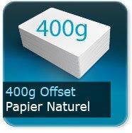 Cartes de correspondance 400g Offset