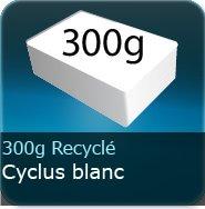 Dépliants / Plaquettes 300g Recyclé cyclus blanc