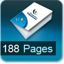 Tarif impression livre 188 Pages