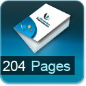 Tarif impression livre 204 Pages