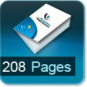 Tarif impression livre 208 Pages