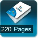 Tarif impression livre 220 Pages
